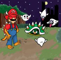 Mario- Another Adventure, WTH? by Spacebabie