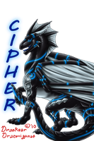Cipher Badge by Draconigenae666