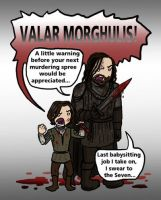 Game of Thrones SPOILERS: Valar Morghulis by blackbirdrose