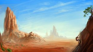 desert paintover by therealarien