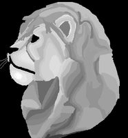 Lion MS PAINT by QuestionRenee