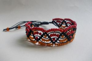 Fire Nation Bracelet by mdlymee