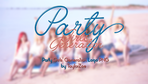 [RENDER]Party Girl's Generation Logo PNG by TaylorZoe