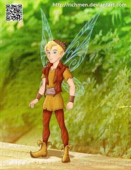 Terence of Tinker Bell Movies by Richmen