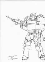 Fallout 3 Dude - Inked by stonerloner
