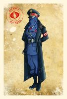 World War II Cobra Commander by El-Mono-Cromatico