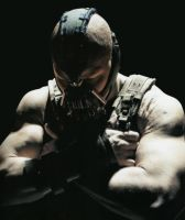 Bane The Dark Knight Rises by SicSlipknotMaggot