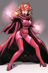 Scarlet Witch - Slot commission by EryckWebbGraphics