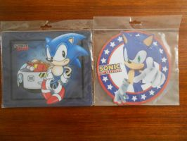 Sonic the Hedgehog Mouse Mats by BoomSonic514