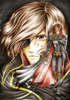 captain Harlock - for Physalis by x-Haru-x