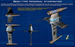 Besh-type personal starfighter ortho [New] by unusualsuspex