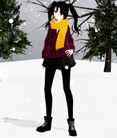 Takane Enomoto Winter - Download by SapphireRose-chan