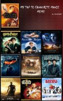 My Top 10 favourite movies by jessypet92