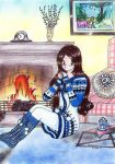 Cozy fire by Kastarnia