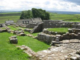 Hadrian's Wall Stock 114 by CoolCurry-Stock