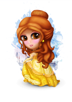Belle from Beauty and the Beast by RainnyBoy0307