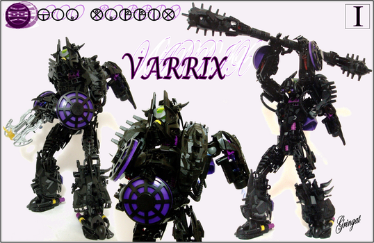 Varrix, Toa of Iodine by Lol-Pretzel