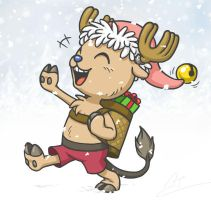 Chopper the Santa Krampus by Birvan