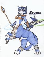 Krystal Saurian Sage Request by dragonheart07
