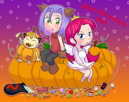 TR- Halloween 2013 by Abie05
