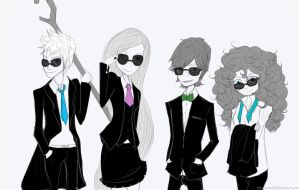 Big four suit Up by UniqueInQ