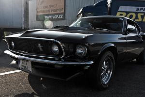 Ford Mustang III by chocholik