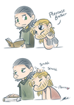 Thor and Loki - Pets by caycowa