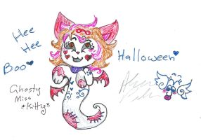 Halloween ask Miss Kitty by Kittychan2005