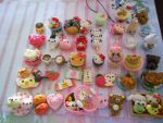 Polymer Clay Charms 2 by misoandramen