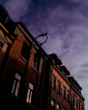 Old City Buildings  by LK-2106