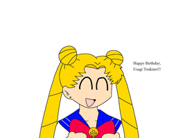 Happy Late Birthday to Usagi Tsukino by SuperMarcosLucky96