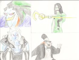 Batman Villains by IHave2MuchFreeTime