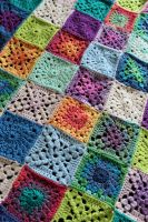 baby blanket 2 closeup by rosemaryjayne