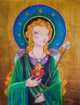 Angel of the Annunciation by NibbleKat