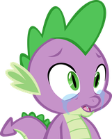 Spike crying by chrisgotjar