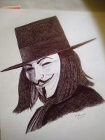 V for Vendetta - Guy Fawkes by Polonx