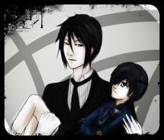 Sebastian and Ciel by Szandy98