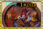 i love troll stamp by sanja280