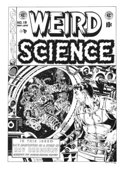 Weird Science #19 Cover Recreation by dalgoda7