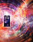 TARDIS series - The Ninth Doctor by girl-withagun