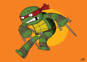 Raphael by striffle