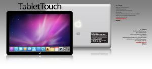 Tablet Touch Ad by gfx4more