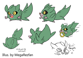 Shrubabe Concept Sheet by MegaRezfan