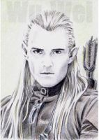 Orlando Bloom as Legolas PSC by whu-wei