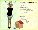 Nephtali Baldesh - Happy Tails Human App by StenpaiTheGreat