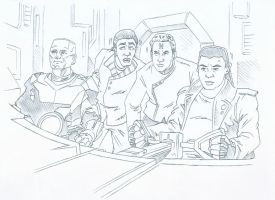 Red Dwarf Animatic Pencils 3 by karcreat