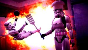 The Stormtrooper Cooking Show! by KillroyFreeman