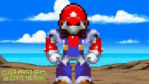 General Shy Guy's Creation - Mecha Mario by KingAsylus91