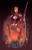 Lady Mechanika by Joe Benitez by Ross-A-Campbell