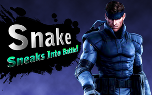 Snake in Super Smash Bros for Wii U/3DS by spdy4
